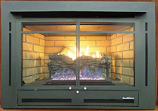 Buck Stove NV-344EBMAN-NG Manhattan Zero Clearance Gas Fireplace - NG