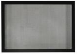 """Fireplace Tall 48"""" Barrier Screen - Matte Black"""