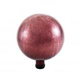 "10"" Gazing Globe, Plum, Crackle"