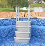 """Main Access 200400T Easy Entry Step 36"""" Wide Dual Handrail"""