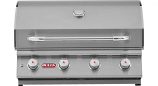 30 Inch Stainless Steel Lonestar Select 4-Burner Barbecue Grill Propane