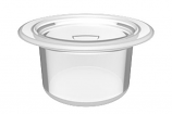 Color Match RPTC-CLR Retrofit Pebble Top Pole Holder Cap and Plug - Clear