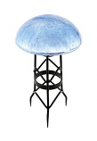 Toad Stool - Blue Lapis - Crackle