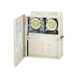 Intermatic T10604R Control Panel T106M and T104M Time Switches