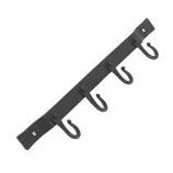 Minuteman Wrought Iron Four-Hook Tool Hanger
