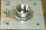 SEG ZWE 1000 Fountain Tek Deck Jet Stainless Steel Mounting Plate