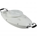 Dunn Rite CK1 CreekKooler Floating Cooler - White