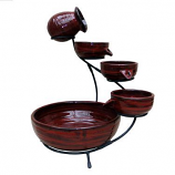 Lava Ceramic Solar Cascade - Lava Red finish