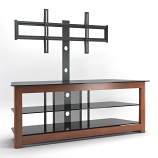 Ryan Rove RR1007 Bombay 60in Floor Stand with Mount in Cherry