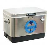 Shelter Logic TC54SSMV-200-1 Margaritaville Stainless Steel Cooler