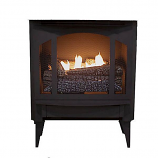 Buck Stove T-33 Gas Stove with Legs and Blower - NG