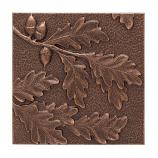 American Crafted Oak Leaf Wall Decor - Antique Copper