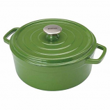 Cypress Green 5 Qt Dutch Oven Bayou Classic 7720G Enameled Cast Iron