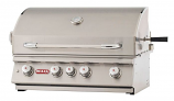 30 Inch Stainless Steel Bull BBQ Angus 4-Burner Barbecue Grill � Propane