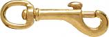 Henssgen 225B- 1 1/4T 1.25x4.75in Snap Round Eye Swivel Bolt Brass - Brass