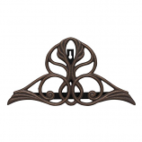 American Crafted Victorian Hose Holder - Oiled-Rubbed Bronze