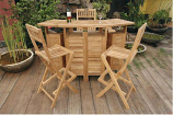 Anderson Teak Set-20 Altavista 5-Piece Bar Set