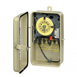 Intermatic T104R201 Time Switch DPST Outdoor Type 3R Metal 208-277 VAC