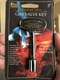 """3"""" Universal Key Pewter By Blue Flame"""