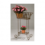 Solera Metal Oval Planter Stand