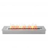 Regal Flame EBP4024 Pro 24in Bio Ethanol Fireplace Burner Insert - 4.8 Liter