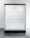 Summit SCR600BGLDTPUBSH Glass Door Craft Beer and Wine Refrigerator