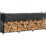 12 ft. / 3,7 m Ultra Duty Firewood Rack with Cover