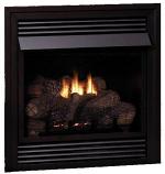 Empire Vail VF Premium 32,000 BTU NG Fireplace with LS24EF Log Set