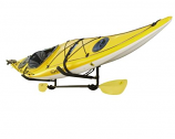 Wall Mount Kayak Storage rack with Paddle Holder