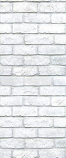 American Chimney Supplies Decorative Chimney Housing Kit - White Brick