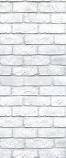 American Chimney Supplies Decorative Chimney Housing Kit - White Brick