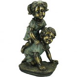 Alpine GXT804 Girl and Boy Playing Statue