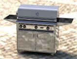 "42"" Freestanding Grill with Sear Burner and Rotisserie - LP"