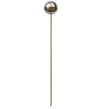 Set of 6 Rome X Large Garden Lollipop - Stainless Steel