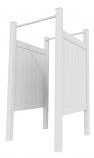Xpanse Shower Enclosure Kit (2 Walls, 4 Posts, Rails, Hardware)