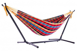 UHSDO9-23 Vivere's Combo - Double Paradise Hammock with Stand- 9ft