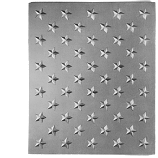 "14"" x 21.5"" 14"" Field of Stars Fireback"