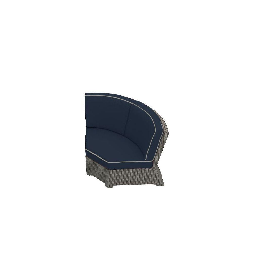 Forever Patio Barbados 45 Deg Corner Chair - Heather Flat/Indigo