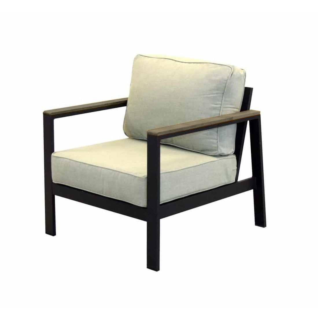 Forever Patio Hanover Club Chair - Gray/Canvas Granite