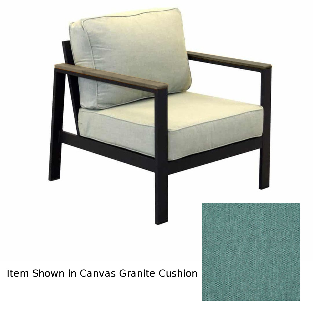 Forever Patio Hanover Club Chair - Gray/Cast Breeze