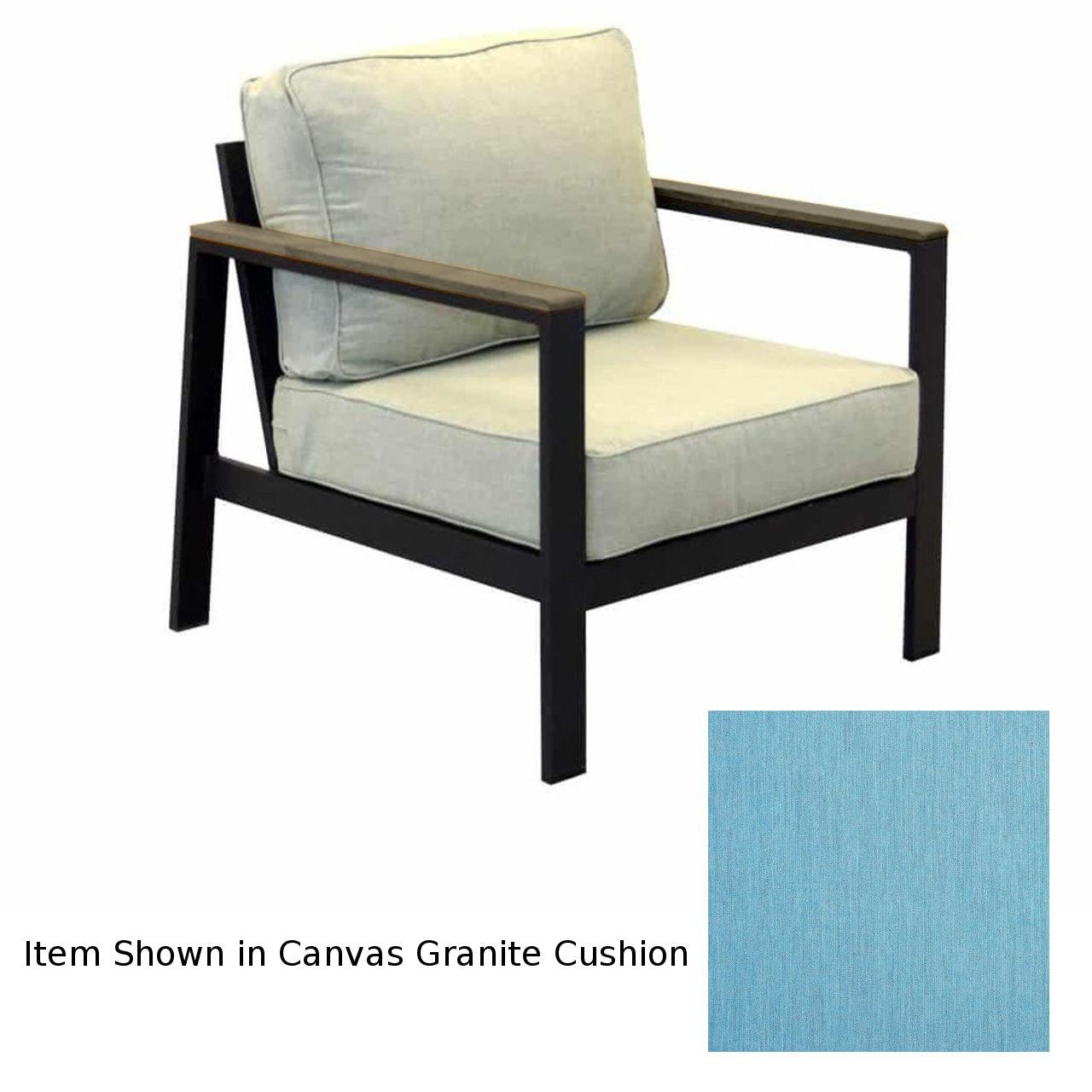 Forever Patio Hanover Club Chair - Gray/Cast Horizon