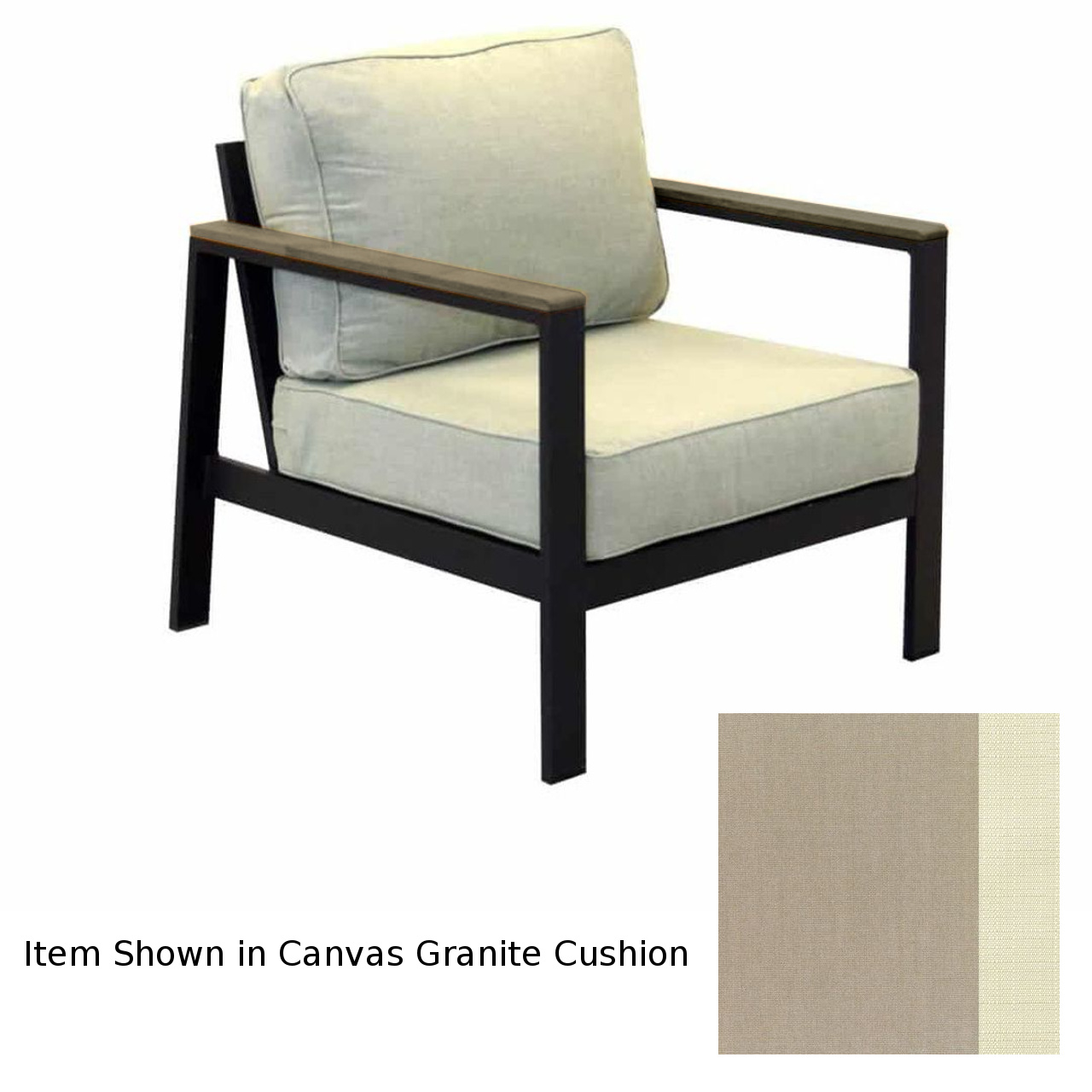 Forever Patio Hanover Club Chair - Gray/Taupe/Linen