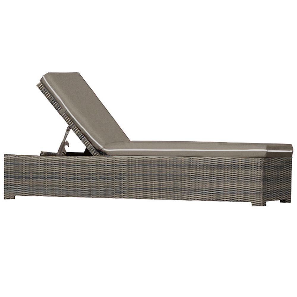 Forever Patio Universal Chaise Lounge - Heather Thick/Taupe/Linen