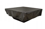 HPC Rectangle Vinyl Cover for Fire Pit Enclosures - Pull String Model FPC78X40