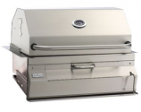 Legacy 12SC01CA Built In Charcoal Grill with Smoker Oven/Hood