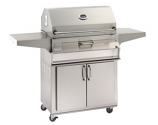 Legacy 24SC01C61 Stand Alone Charcoal Grill with Smoker Oven/Hood