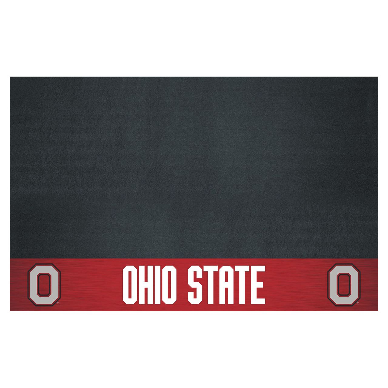 """COL - Ohio State Grill Mat 26"""" x 42"""""""