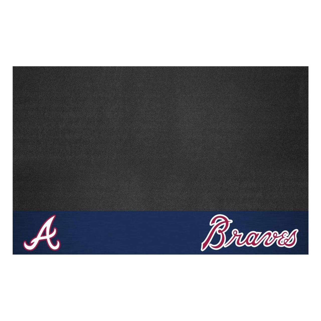 "Fanmats 12145 MLB - Atlanta Braves Grill Mat 26""x42"""