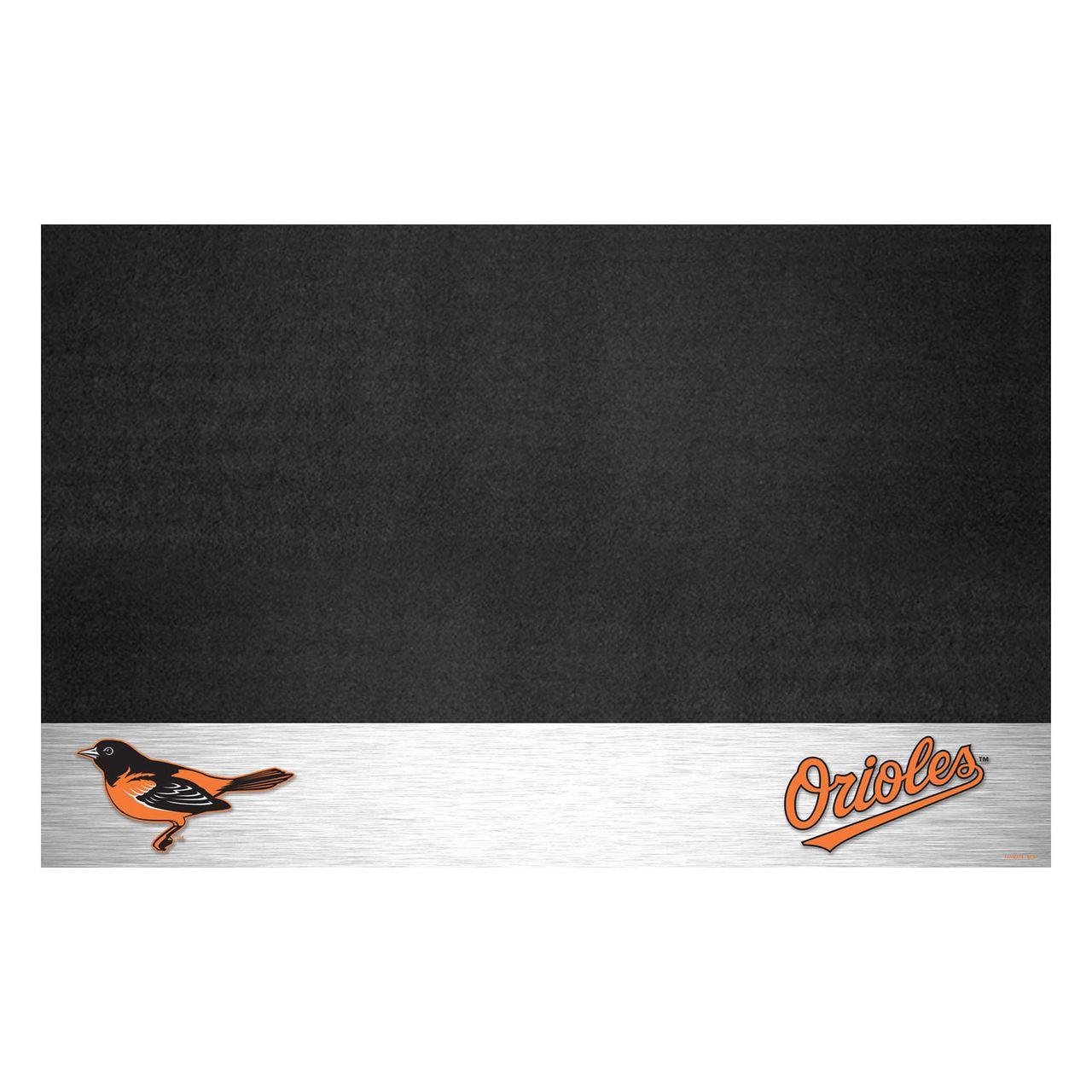 "Fanmats 12146 MLB - Balitmore Orioles Grill Mat 26""x42"""