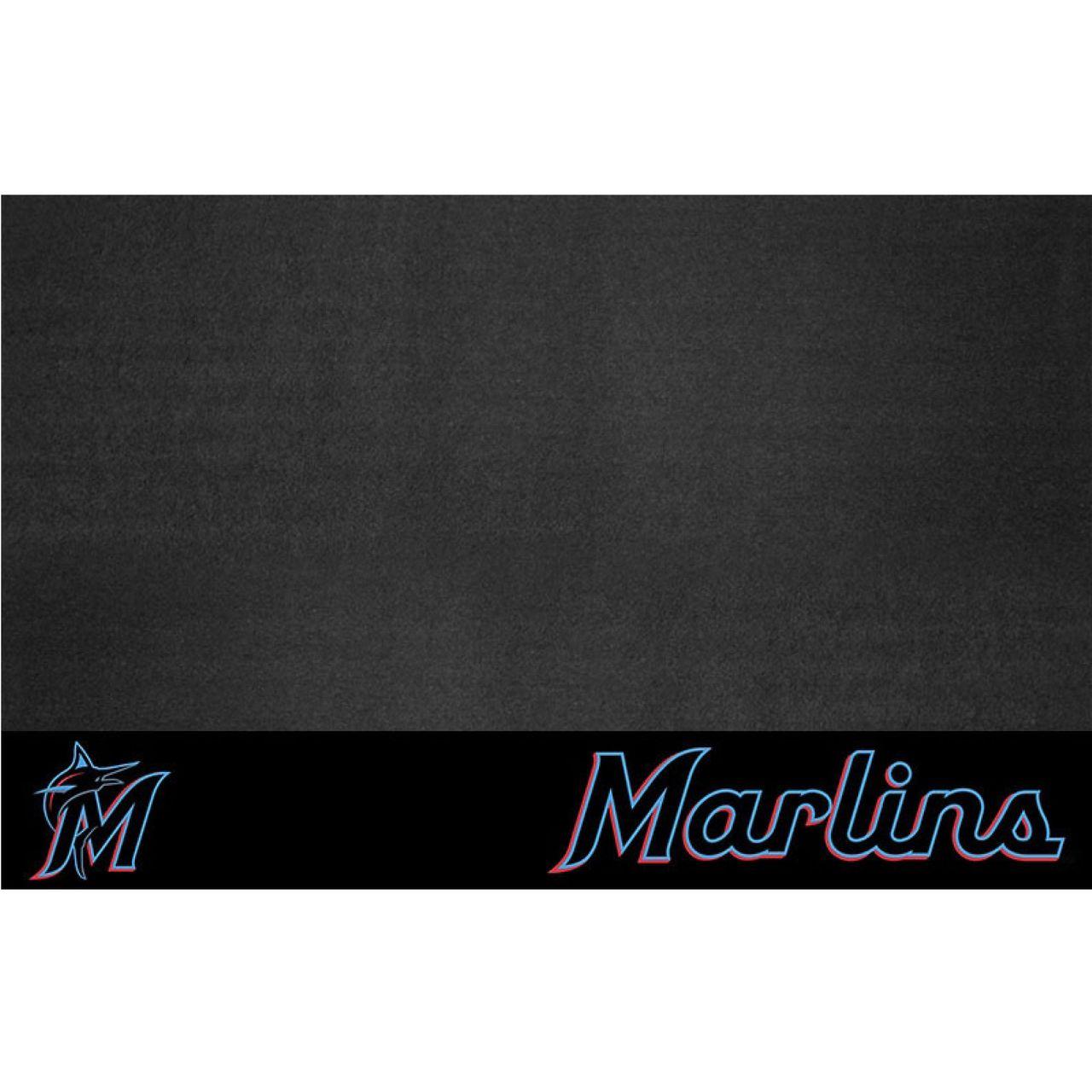 """Fanmats 12154 MLB - Miami Marlins Grill Mat 26""""x42"""""""